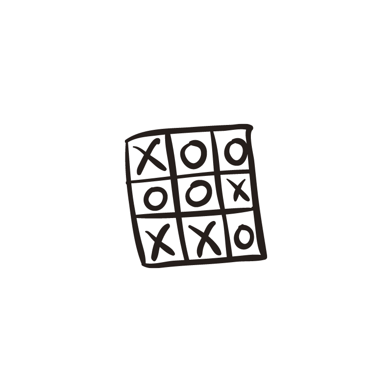 Tic tac toe - think outside the box